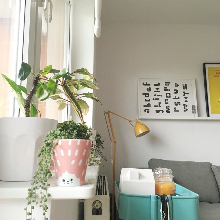 My colorful living space