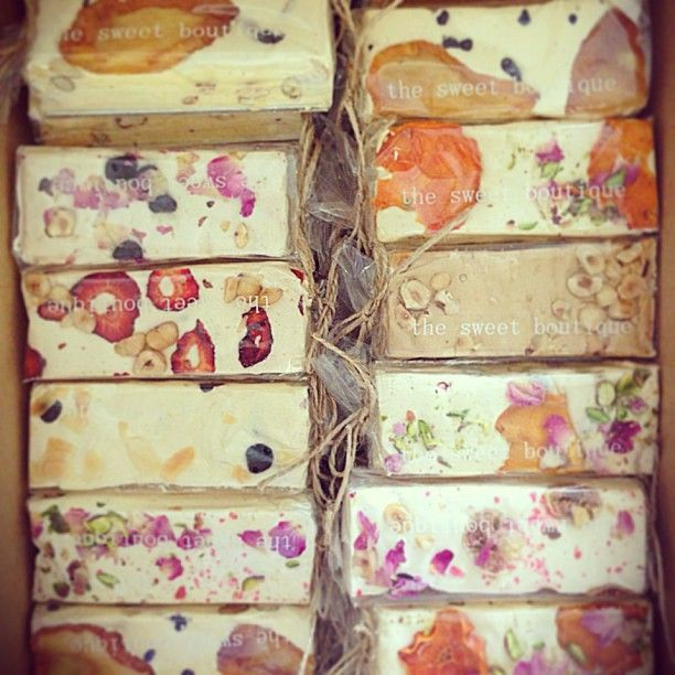 Okay, now I want to learn how to make nougat | Photo by katieqd