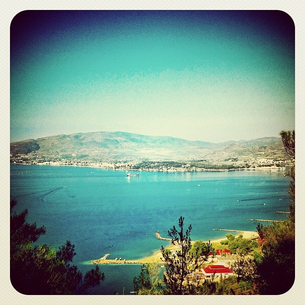 View from Goritsa Hill