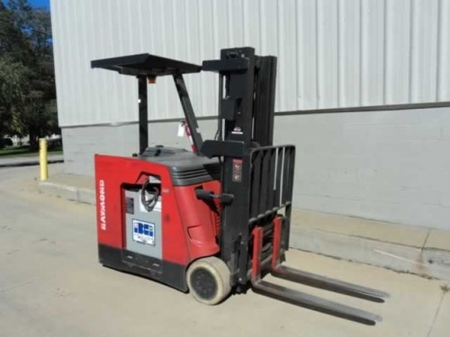 Three 2005 Raymond R40c40tt Electric Counter Balance