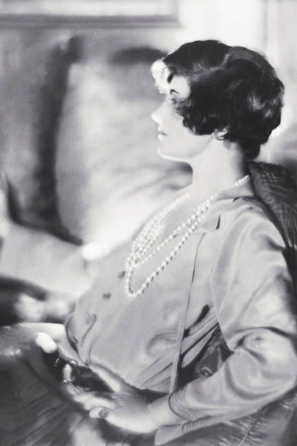 "1920, Gabrielle ""Coco"" Chanel  As she began creating the unrestrictive jersey pieces that would set her apart from other designers of the day, Coco cropped her cumbersome long locks, too."