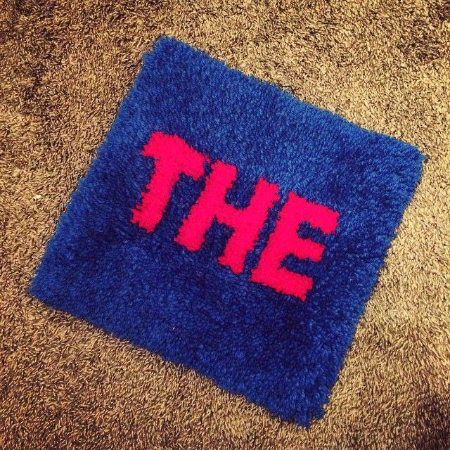 100均の滑り止めマットと毛糸で作る暖かマットをDIY♡