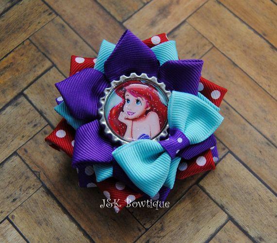 He encontrado este interesante anuncio de Etsy en https://www.etsy.com/es/listing/264898513/little-mermaid-ariel-princesa-flor