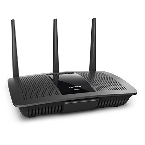 Linksys AC1750 Dual-Band Smart Wireless Router with MU-MIMO, Works with Amazon Alexa (Max Stream EA7300) - Wi-Fi for all. Family no longer has to negotiate for home Wi-Fi; everyone stays connected with the Max-Stream AC1750 Router (EA7300). It eliminates buffering for everyone in your household. Next-Gen AC Wi-Fi - Multi-User MIMO Technology – is like a dedicated router to multiple devices at t...