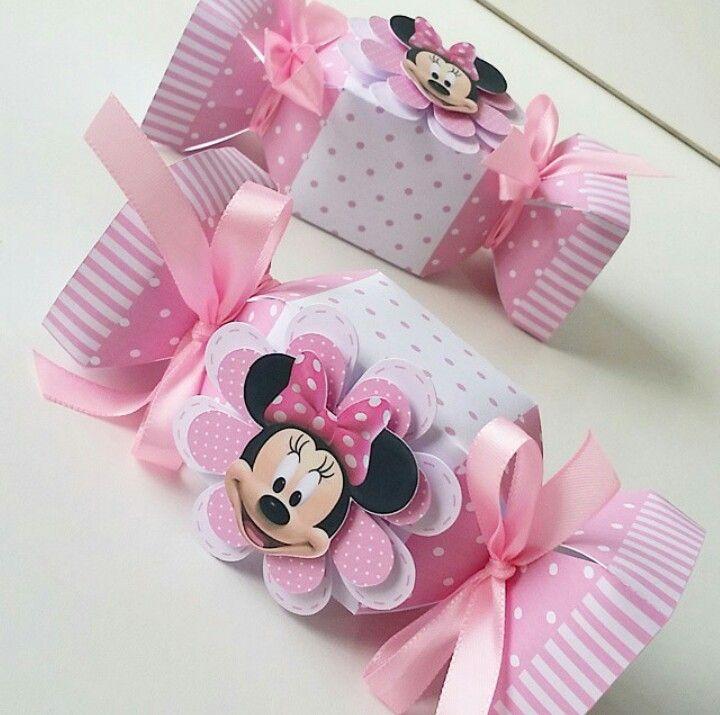 Caixa Bala Minnie Mouse