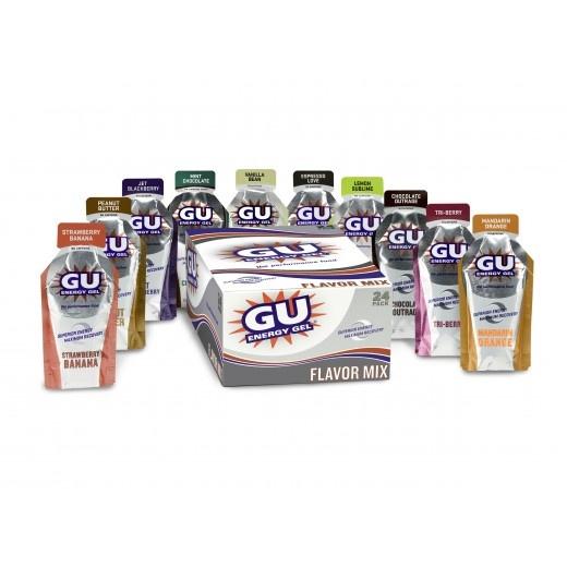 GU Energy Gels  $25