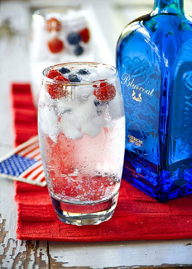 68 best images about 4th of july drinks and food on for Best juice with gin