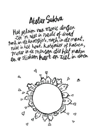 gedicht, poem, atelier sukha