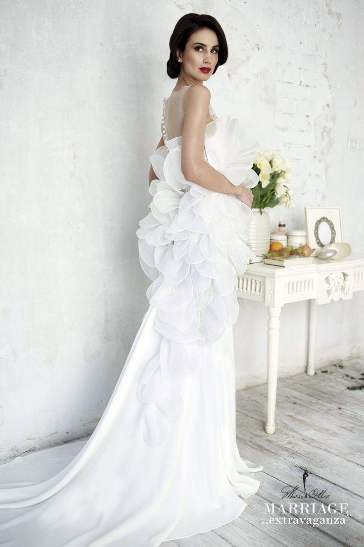"Marie Ollie, Marriage ,,extravaganza"" bride, wedding, dress"