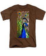Peacock Pride Men's T-Shirt  (Regular Fit) by Angelina Vick