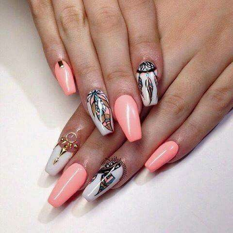nailseveliz rivera  cosme  dream catcher nails