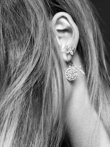 Stone Paris - Boucles d'oreilles Blood Diamonds