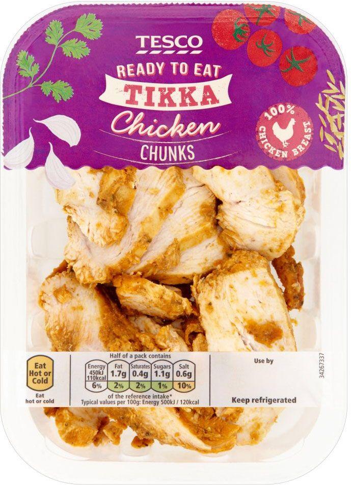 Tesco chicken packaging p&w