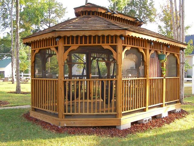 18 best cabanas gazebos images on pinterest backyard ideas patio ideas and pool ideas - Gazebo pergola designs dream spot ...