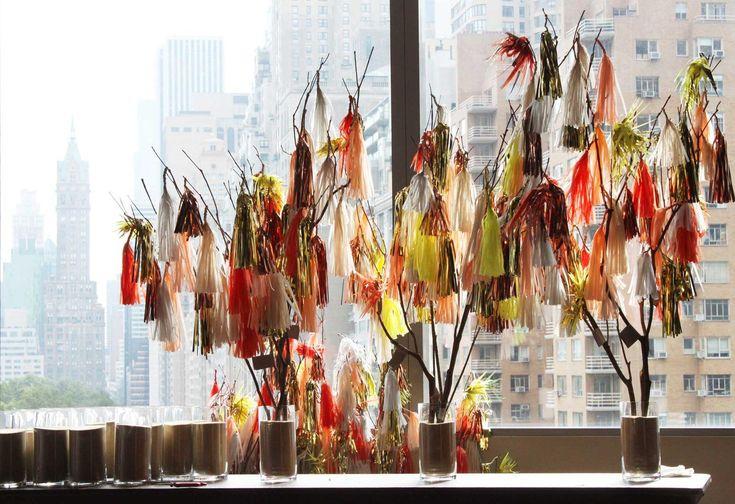 handmade tassels from Confetti System