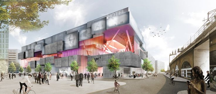 """J. Mayer H. Wins Competition to Design Berlin """"Experience Center"""""""