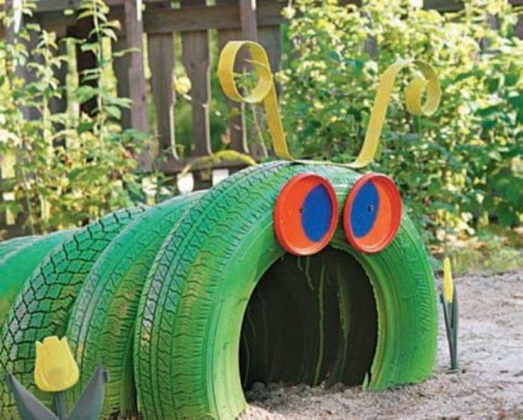 L'arte del riciclo: Come riutilizzare i vecchi pneumatici [foto] - Casa & Design