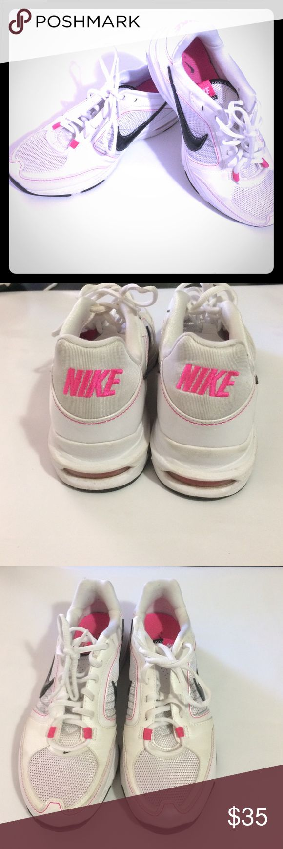 Nike Tennis Shoes Nike tennis shoes worn a few times, decent condition see pictures Nike Shoes Athletic Shoes