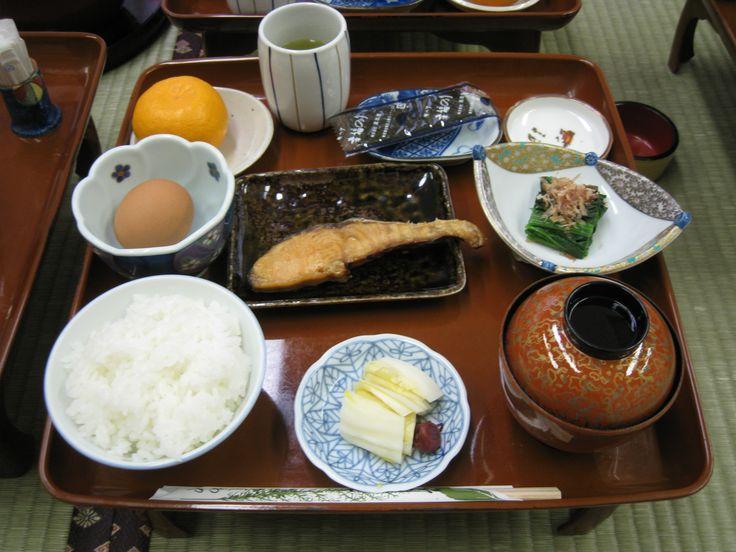 柏屋旅館:朝食