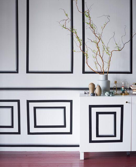 g nstige deko mit klebeband in 2019 ideen cinta. Black Bedroom Furniture Sets. Home Design Ideas