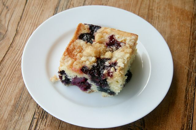 Lemon Blueberry Buckle by Food Librarian, via Flickr