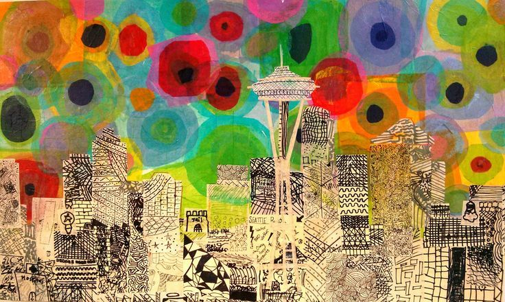 Studio Kids - Children's Art Classes in Ballard, Seattle: Kids Art Auction Projects (updated 02/14)