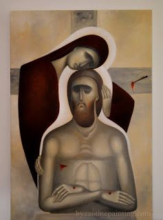 Pictor de Icoane: Unde era Maica atunci cind Fiul invia?