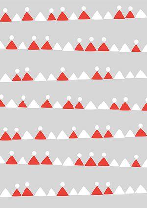 Pikku Kakkosen tulostettavia joulupapereita askarteluun: Kolmiorivit 3. Free printable patterns. lasten | askartelu | joulu | käsityöt | koti | DIY ideas | kid crafts | christmas | home | Pikku Kakkonen