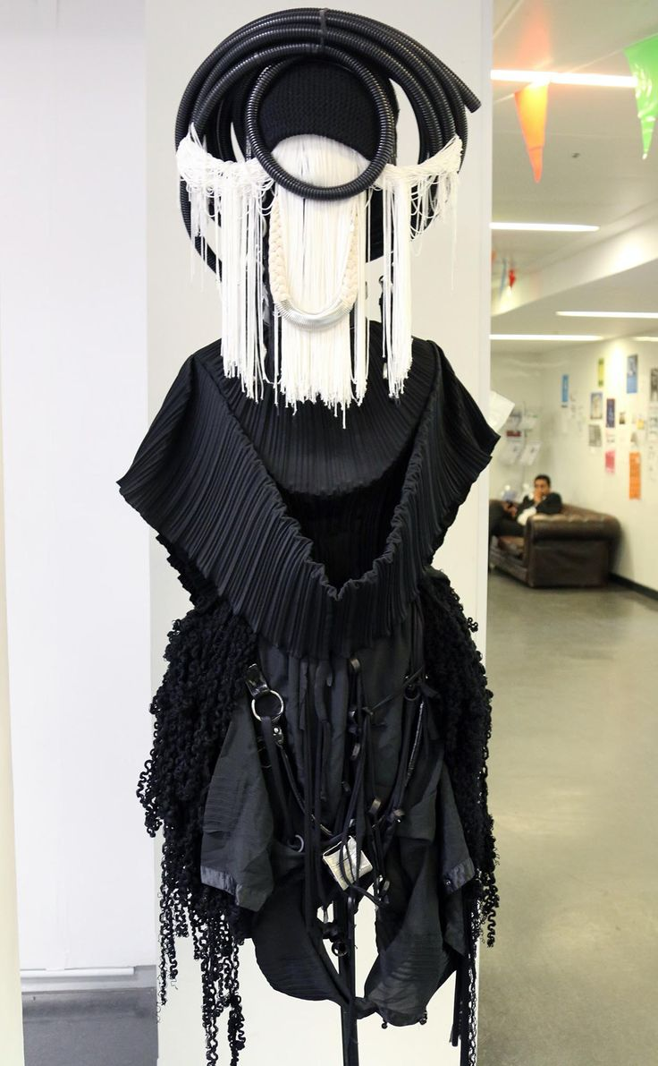 Quirky, unnerving and striking… just a few of the words used to describe these #fashionmonsters at our #KnightsPark campus, created by our fashion students out of recycled materials as part of a sustainable design project.