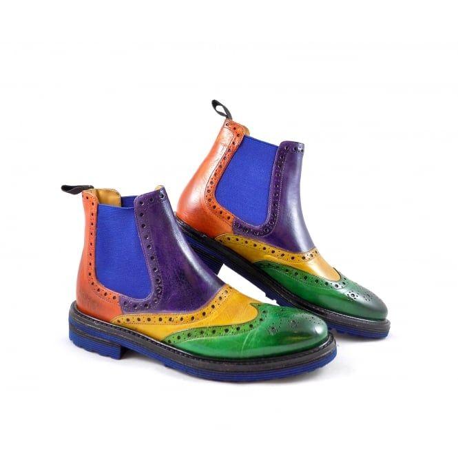 Melvin & Hamilton Amelie 24 Brogue Chelsea Boots | rubyshoesday