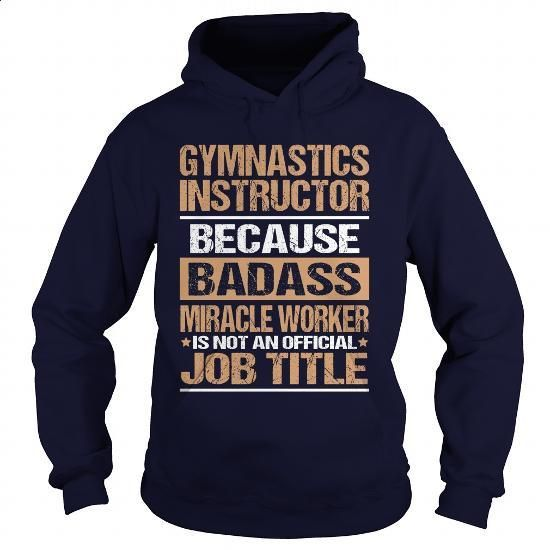 GYMNASTICS-INSTRUCTOR - #clothing #boys hoodies. I WANT THIS => https://www.sunfrog.com/LifeStyle/GYMNASTICS-INSTRUCTOR-97372619-Navy-Blue-Hoodie.html?60505