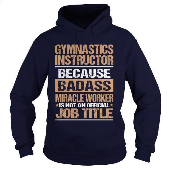 GYMNASTICS-INSTRUCTOR - #clothing #boys hoodies. I WANT THIS => https://www.sunfrog.com/LifeStyle/GYMNASTICS-INSTRUCTOR-97372619-Navy-Blue-Hoodie.html?60505