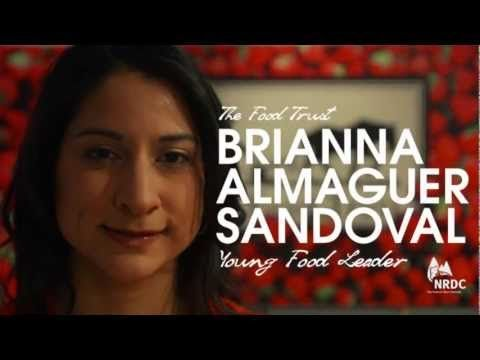 Brianna Almaguer Sandoval: 2013 Growing Green Young Food Leader - YouTube
