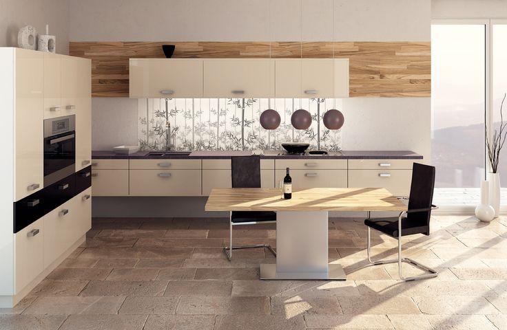 7 besten r ckw nde und glasbilder f r die k che bilder auf. Black Bedroom Furniture Sets. Home Design Ideas