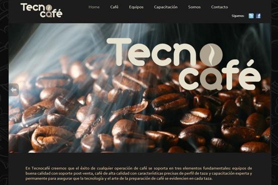 Web Tecno Café