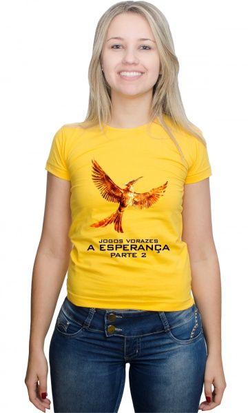 Camiseta - Jogos Vorazes A Esperança pt2 - Reis Online Camisetas Personalizadas