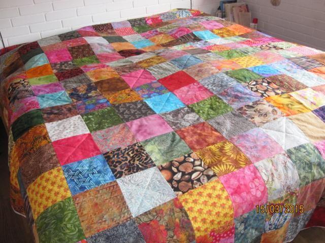 """""""HANNES"""" PATCHWORK. Inspirations side. På denne patchworkside, finder du hvad """"HANNES"""" kunder har syet af flotte patchwork tæppe, slumretæpper, sengetæpper"""