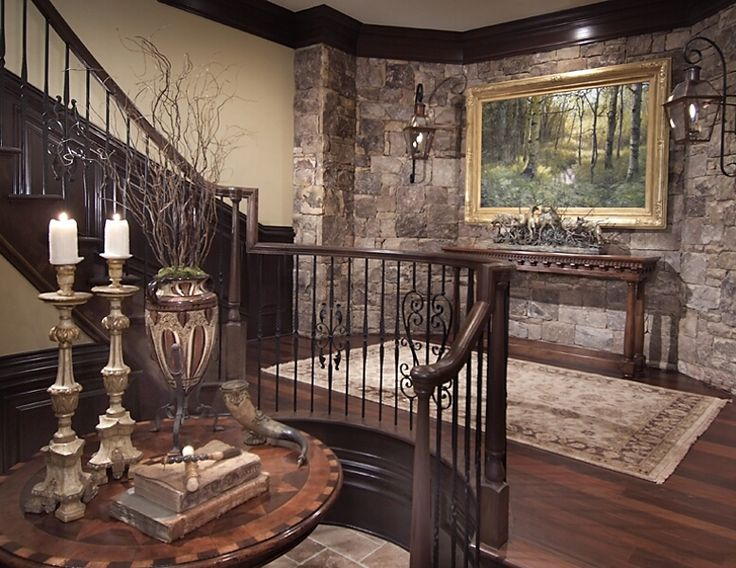 charming stone wall interior design ideas   50 best Charming Old World Elegance images on Pinterest ...