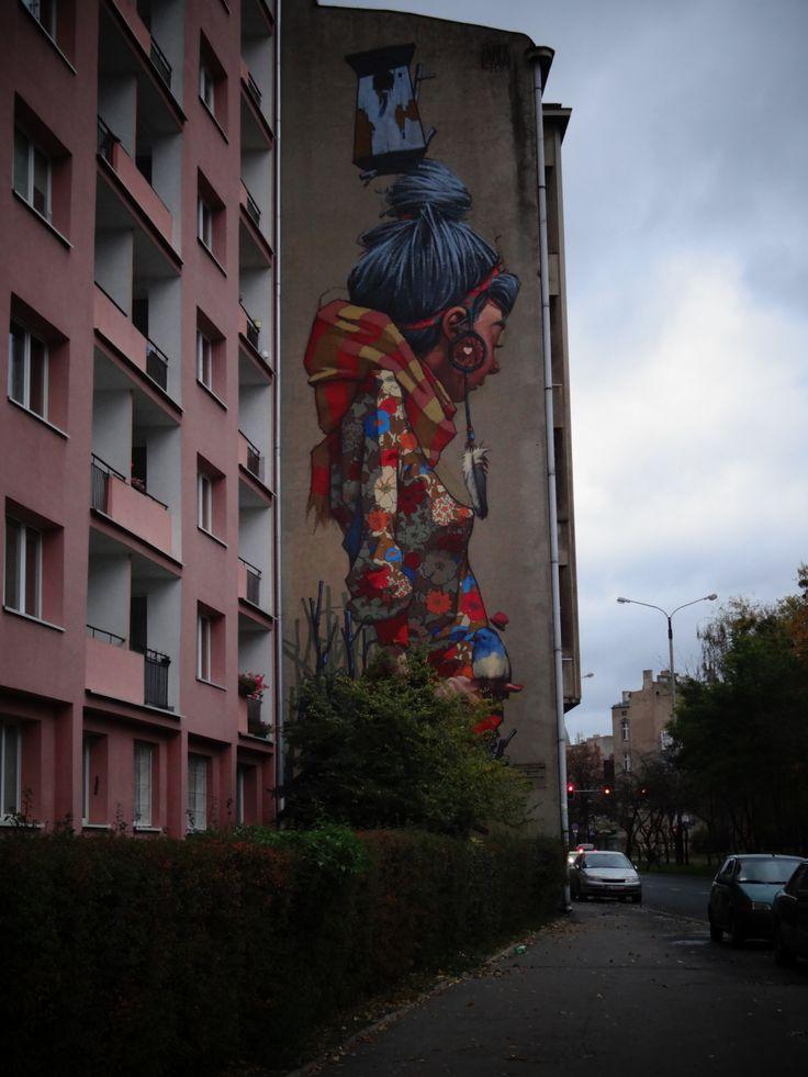 street art author: Etam Cru