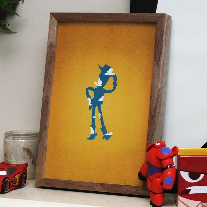 La silhouette de Woody
