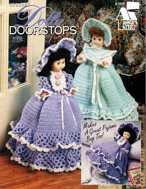 Hey, I found this really awesome Etsy listing at https://www.etsy.com/listing/257949515/crochet-dolly-doorstops-pattern-annies