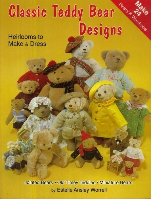 Classic Teddy Bear Design - patterns