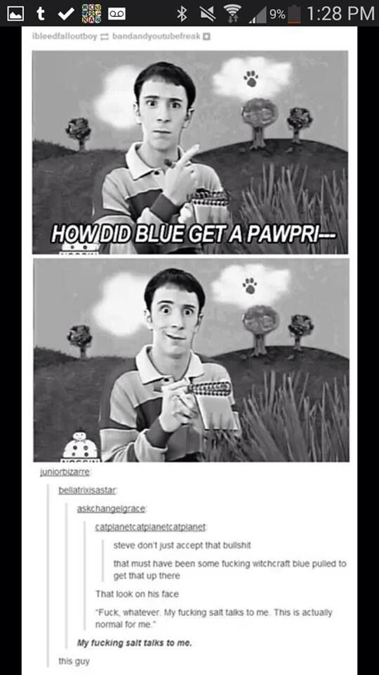 Best of Tumblr, Blue's Clues