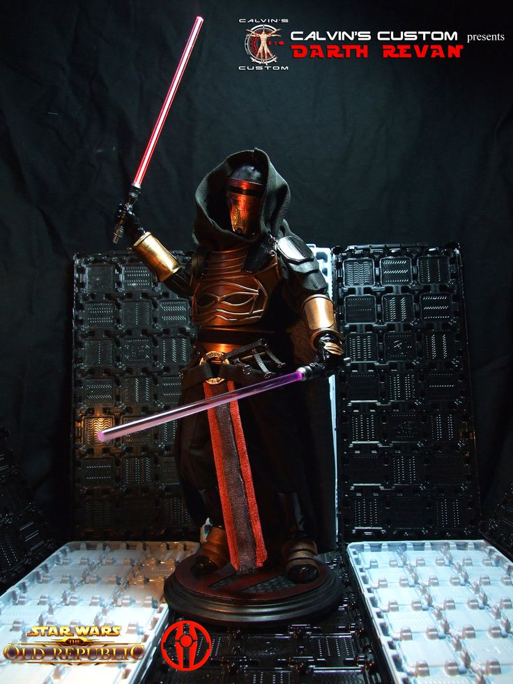 Calvin's Custom one sixth scale Starwars The Old Republic Commission Darth Revan figure