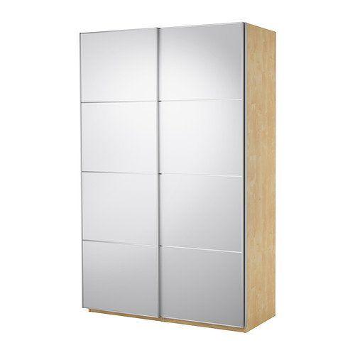 IKEA(イケア) PAX バーチ調 150x66x201 cm 09907578 ワードローブ 引き戸付、バーチ調、アウリ ミラーガラス IKEA(イケア) http://www.amazon.co.jp/dp/B00C65EC2E/ref=cm_sw_r_pi_dp_Xilivb0BN5DJT