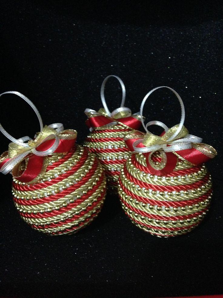 Bambalinas hechas a mano / cordon