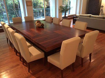 Resultado de imagen para mesas de comedor para 12 personas