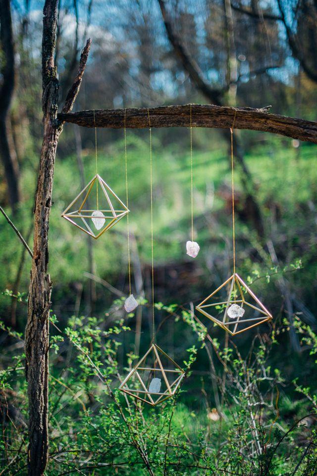 DIY gemstone mobile   Paula Bartosiewicz Photography   see more on: http://burnettsboards.com/2014/06/winner-is/ #DIY