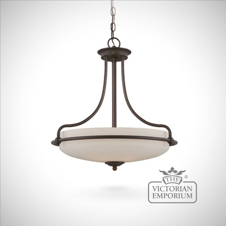 Buy simple and elegant ceiling light medium interior ceiling and hanging lights period style ceiling light in bronze with opaque glass in a choice of 4
