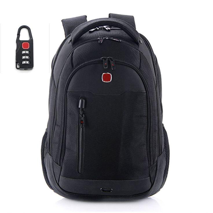 ==> [Free Shipping] Buy Best 10%OFF! Casual Bussiness Men Backpack Mochilas Women's Backpacks 15.6Inch Black Laptop Shoulder Bag Teenage Boy Rucksack Hombres Online with LOWEST Price | 32678026136